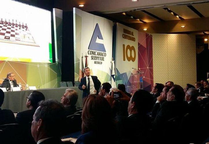 Para 2017 Concanaco realizará foros regionales en seis ciudades con motivo de los 100 años de su fundación. (Facebook)