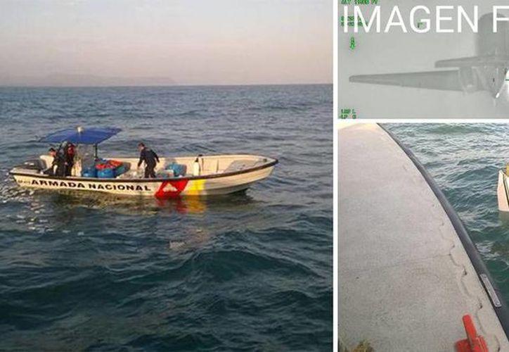 Un avión tipo Hawker 800 cargada de narcóticos cayó en la zona sur de Puerto Colombia. (semana.com)