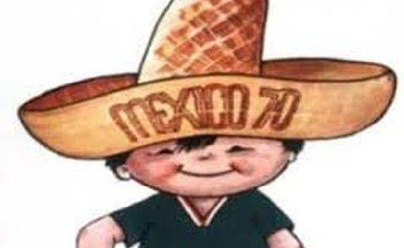 Juanito, un niño de 11 años, fue la 'mascota' de México en el Mundial de 1970. (Milenio/Foto especial)