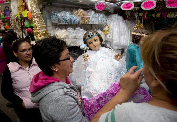 En México la religiosidad se expresa de muchas maneras. La imagen corresponde al festejo de la Candelaria. (AP)
