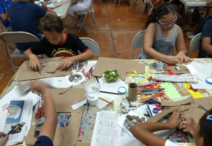 Los niños practicarán actividades recreativas durante las vacaciones. (Adrián Barreto/SIPSE)