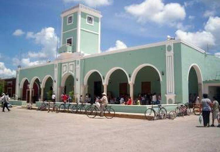 Ocho exalcaldes yucatecos tienen problemas con la justicia. Imagen de contexto del Ayuntamiento de Dzemul, Yucatán. (SIPSE)