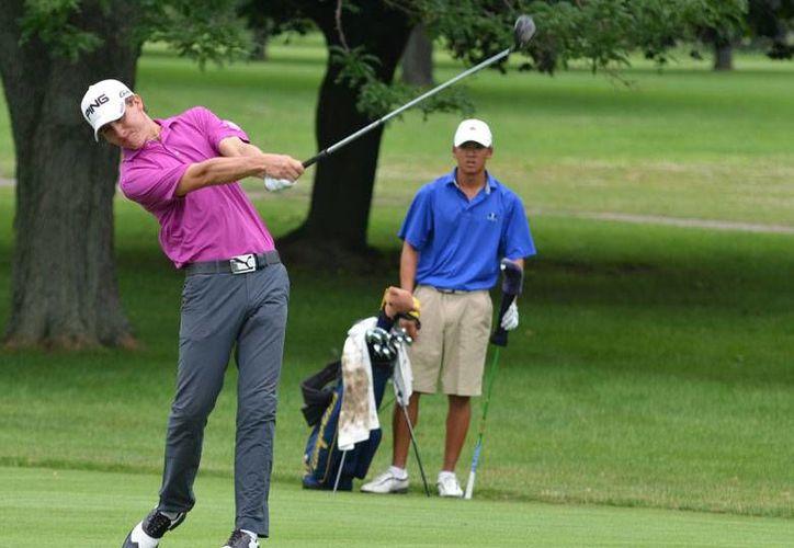 El golfista jalisciense Carlos Ortiz fue reconocido como embajador de la marca Grupo Vidanta. (Foto/Internet)