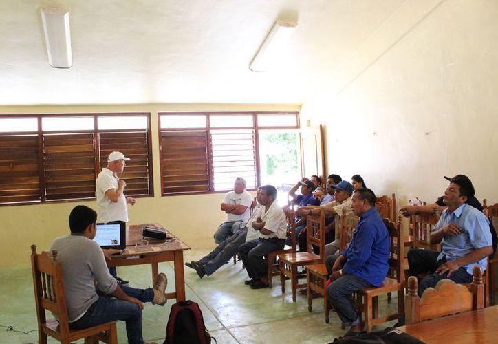 Se realizó una reunión con varios de los representantes de las cooperativas. (Sara Cauich/SIPSE)