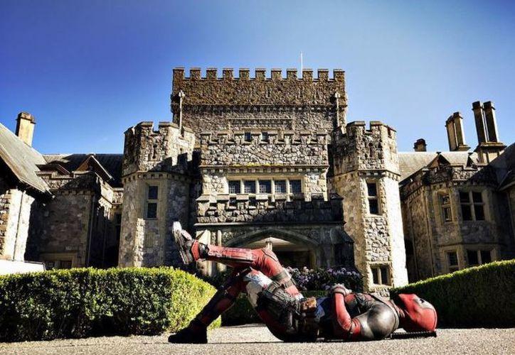 El polémico personaje visitó la mansión donde viven todos los X-Men. (Foto: Ryan Reynolds/Instagram)