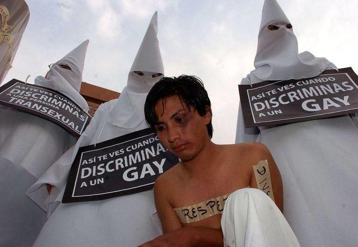La discriminación social a estos grupos sociales es un hecho: siete de cada 10 personas homosexuales consideran que en este país no se respetan los derechos de diversidad sexual.  (Octavio Gómez/proceso.com.mx)