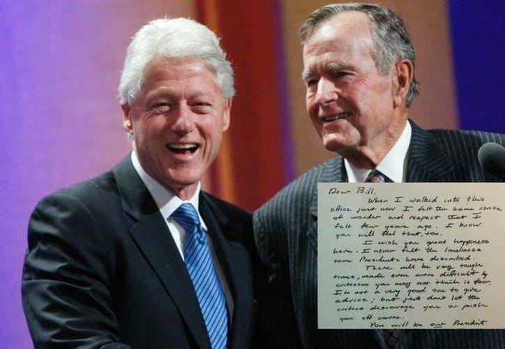 La sucesión del poder en enero de 1993 entre George H. W. Bush y Bill Clinton fue muy civilizada. (telegraph.co.uk)