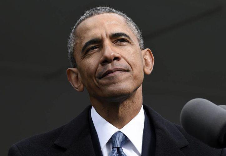 El presidente Barack Obama comunicó su decisión al presidente egipcio Abdelfattah al-Sisi durante una conversación telefónica. (Foto AP)