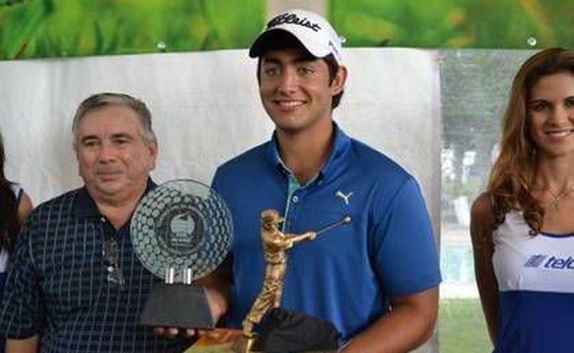 González hizo 79 y 78 golpes en los dos días del torneo para un total de 157. (Milenio Novedades)