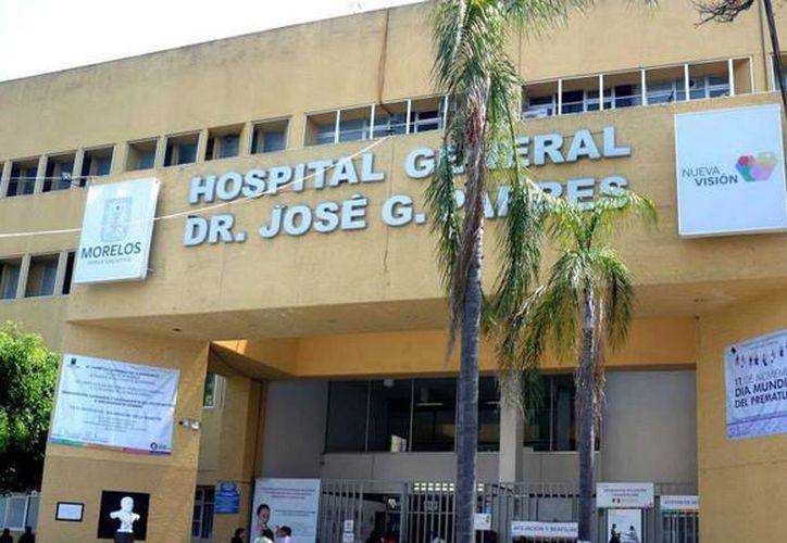 """La quinta procuración de órganos se realizó en el Hospital General de Cuernavaca """"Dr. José G. Parres"""". (Internet)"""