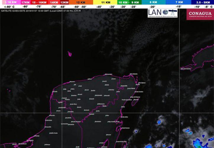 La temperatura máxima llegará a 28 grados en la Riviera Maya. (Servicio Meteorológico Nacional)