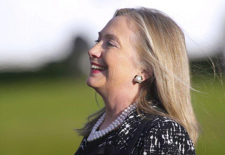 Hillary Clinton fue ingresada desde el domingo por un coágulo en la cabeza. (EFE)
