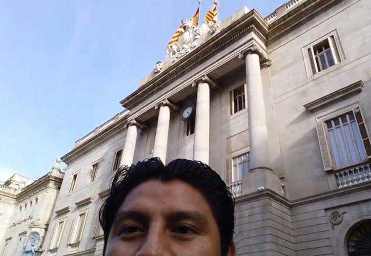 Marco estudiaba su maestría en Educación y Comunicación, pero el tres de diciembre cayó de un edificio de cinco pisos. (Foto: Redacción)
