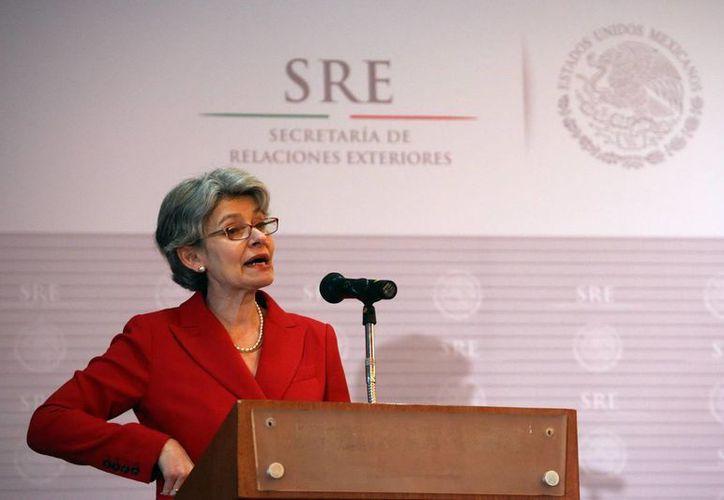 Irina Bokova, directora general de la UNESCO, uno de los organismos que promueven el Premio Mundial de Libertad de Prensa. (Archivo/EFE)