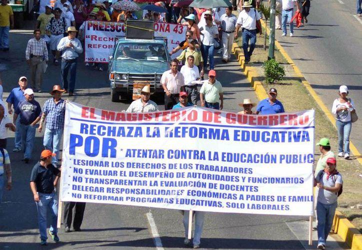 Piden la realización de un Dialogo Nacional por la Educación. (Archivo/Notimex)