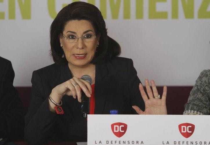 Lorena Martínez entrará al proceso interno del PRI Aguascalientes donde se elegirá a quien contienda por la gubernatura del estado. (Archivo/Notimex)