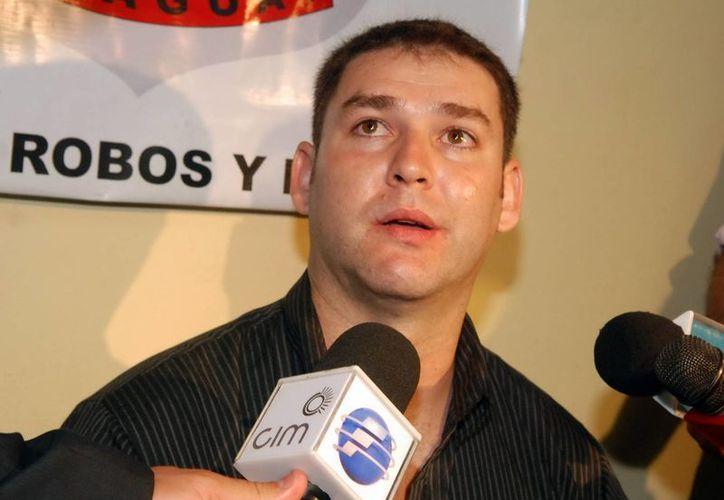 Carlos González, detenido en Paraguay por robar medio millón de dolares. (EFE)