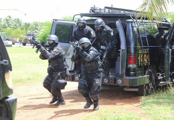Agentes estatales participaron en la detención de  Roberto Nájera Gutiérrez (a) 'La Gallina', operador del Cartel de Sinaloa en el sureste de el país. (Imagen estrictamente ilustrativa/ SIPSE)
