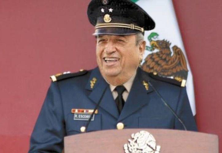 Ricardo Escorcia indicó que se internará en el Hospital Central Militar para después reincorporarse al Ejército. (Archivo Agencias)