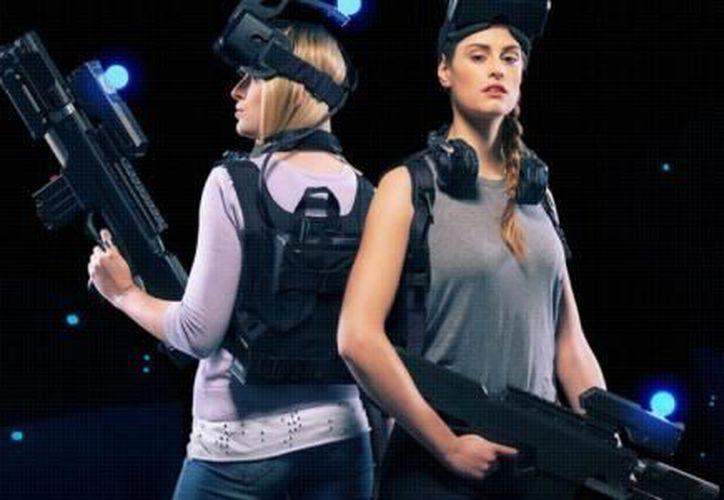 La sala VR tendrá tres juegos disponibles: Zombie Survival, Engineerium y Singularity. (Foto: El Financiero)