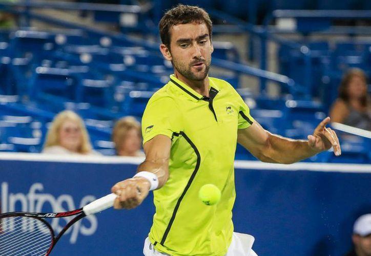Cilic, de 27 años, rompió la racha de 22 victorias consecutivas de Andy Murray, quien además ganó el oro en Río de Janeiro. (EFE/Archivo)