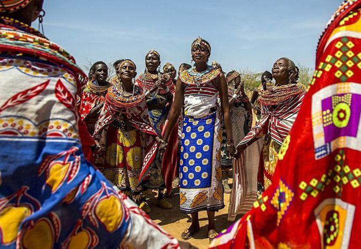 Umoja fue fundado en 1990 por 15 mujeres que fueron víctimas de abusos, y ahora en ella viven 47 mujeres y 200 niños. (Georgina Goodwin for the Observer)