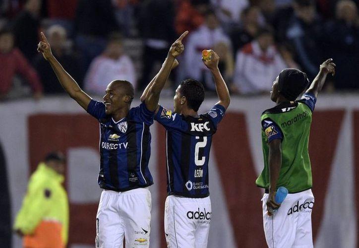 Independiente del Valle cayó ante River Plate este miércoles en la Copa Libertadores por marcador de 1-0, sin embargo, el global le otorgó su boleto a los cuartos de final. (Facebook: Copa Libertadores)