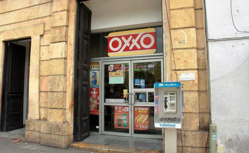 Con este nuevo servicio de Oxxo, el interesado podrá solicitar un acta de cualquier entidad federativa. Imagen de una tienda de conveniencia en Mérida, Yuc. (Uziel Góngora/SIPSE.com)