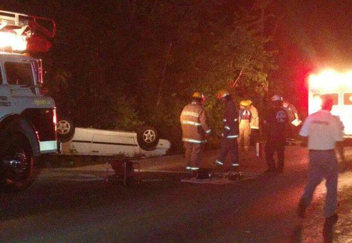 El extitular de la Zofemat y Ecología en Cozumel falleció en un accidente carretero durante la madrugada de ayer. (Irving Canul/SIPSE)