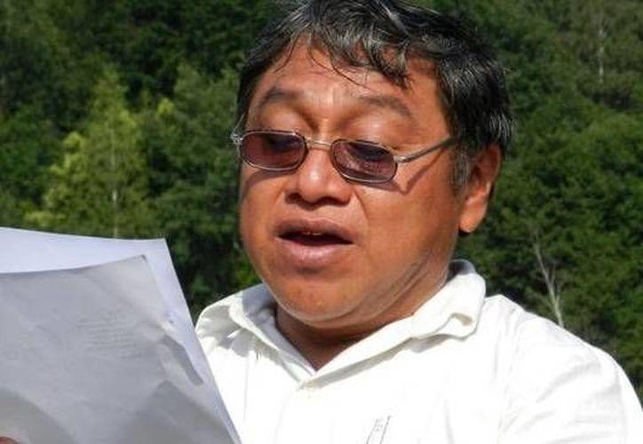 Feliciano Sánchez Chan, investigador de Culturas Populares. (Milenio Novedades)