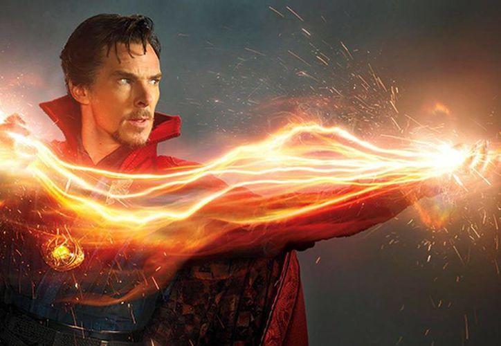 La película mantuvo el liderato de ventas por segunda semana consecutiva. En la foto, una de las escenas de 'Doctor Strange'. (Marvel)