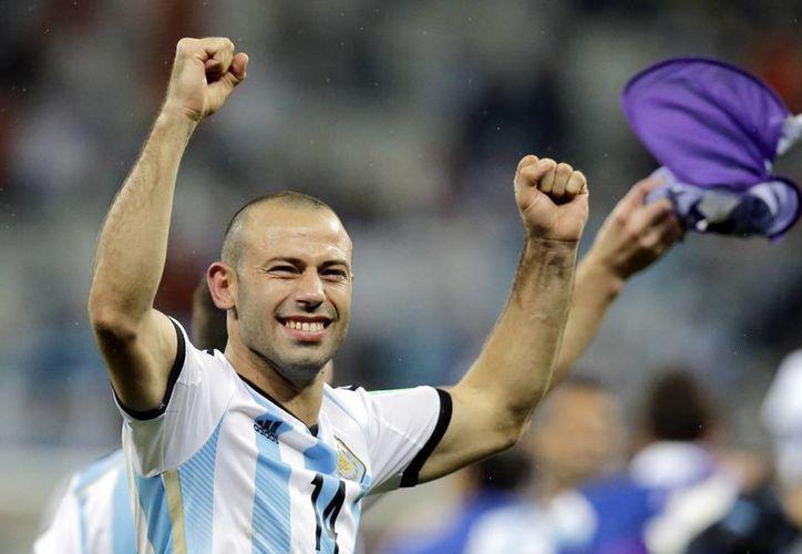 El contención Argentino tuvo una notable actuación en el duelo contra Holanda. (AP)