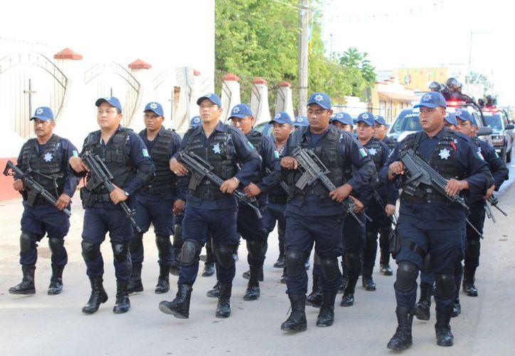 Reclutan a jóvenes para Policía Municipal de Bacalar - Sipse.com
