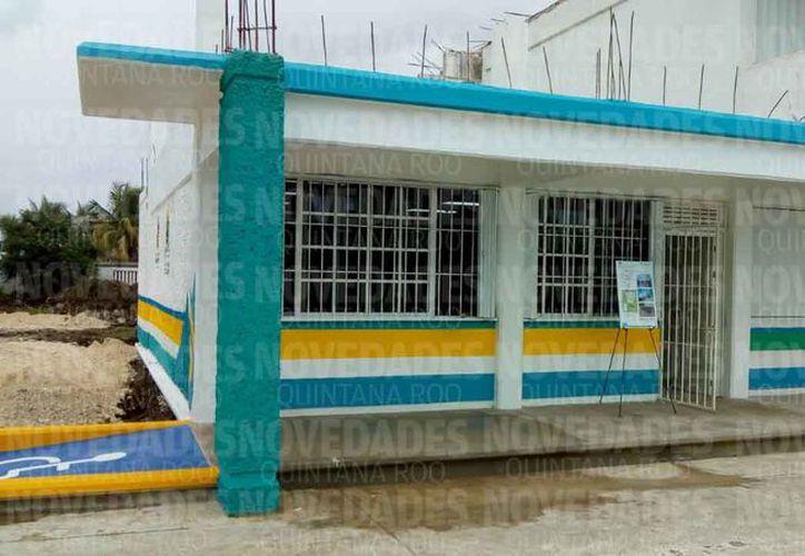 Dieron mantenimiento a planteles de nivel básico, en el municipio de Othón P. Blanco. (Joel Zamora/SIPSE)