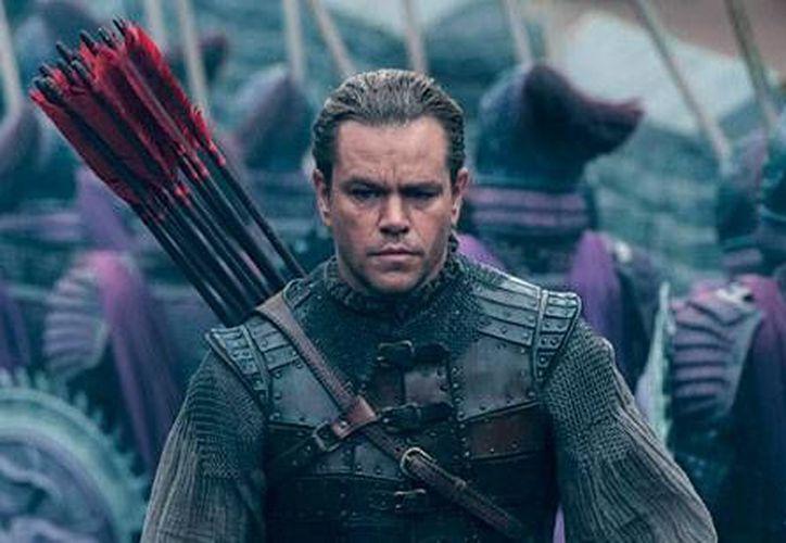 El trabajo de Matt Damon como un mercenario que descubre tener una conciencia es bien balanceado con la labor de Tian Jing. (Contexto/Internet)