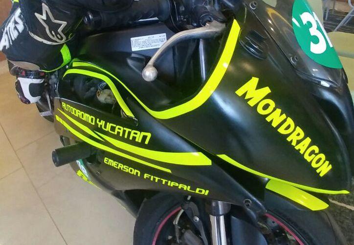 """Del 7 al 9 de abril, en el autódromo Yucatán """"Emerson Fitipaldi"""" se llevará al cabo el Campeonato Moto Sur México. (José Acosta/SIPSE)"""