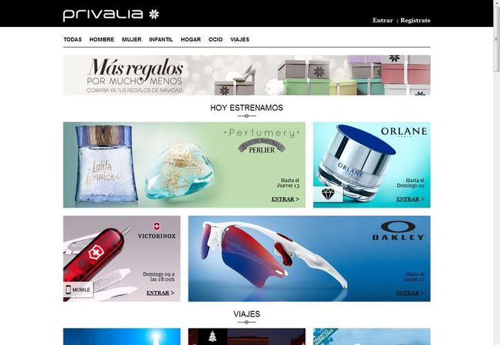 Diversas empresas ofrecen vía internet interesantes descuentos a sus clientes. (Captura de pantalla)
