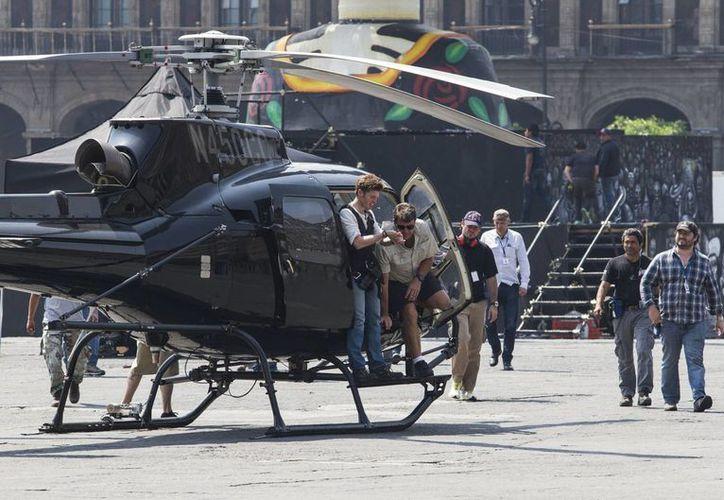 Según algunos comerciantes del Centro Histórico de la Ciudad de México, el rodaje de 'Spectre' hizo  caer sus ventas en 60 % en promedio en las dos semanas de rodaje de la nueva película de James Bond. (Notimex)