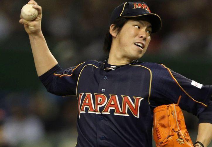El pitcher japonés Kenta Maeda, cerca de firmar un contrato con Dodgers de Los Ángeles. (archivo/intheivy.com)
