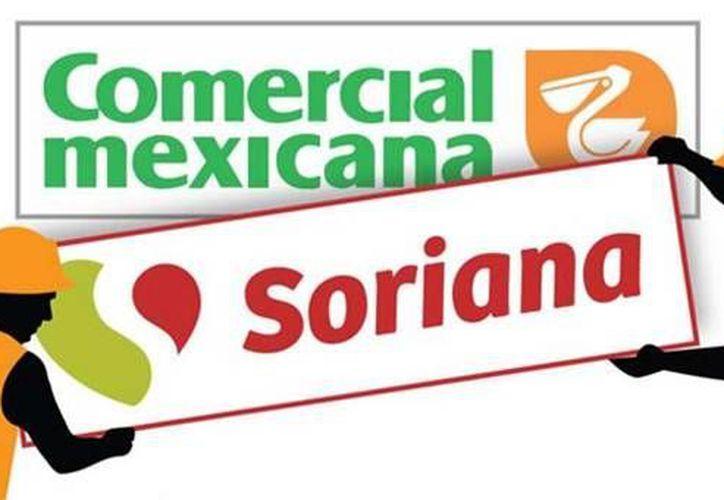 Los cambios en tiendas de la Comercial Mexicana comenzaron a hacerse presentes luego de que el pasado ocho de enero Soriana liquidó la adquisición de sus tiendas por un monto por más de 34 mil 108 millones de pesos. (Imagen de Milenio)