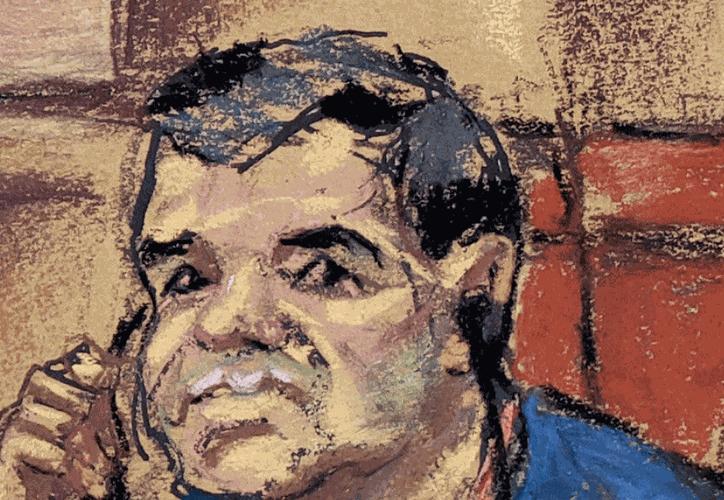 """Bajo estrictas medidas de seguridad inició el juicio de Joaquín """"El Chapo"""" Guzmán en la corte federal de Brooklyn. (Foto: AP)"""