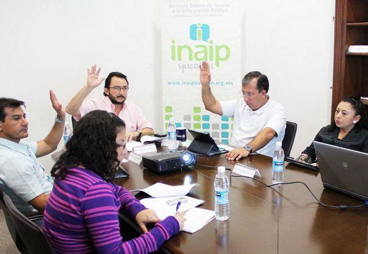El INAIP prevé realizar un Diplomado en Derecho de Acceso a la Información. (Cortesía)