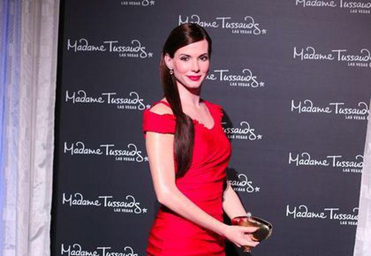 Sandra Bullock se suma a la larga lista de estrellas que tienen su réplica en el museo de Madame Tussaud en Las Vegas. (esmas.com)