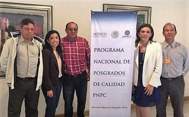 Acudieron a la Ciudad de México para defender la evaluación realizada por el PNPC. (Carlos Horta/ SIPSE)