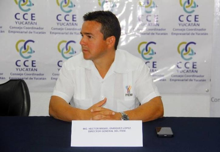 Miguel Enríquez López, director del Iyem. (Milenio Novedades)