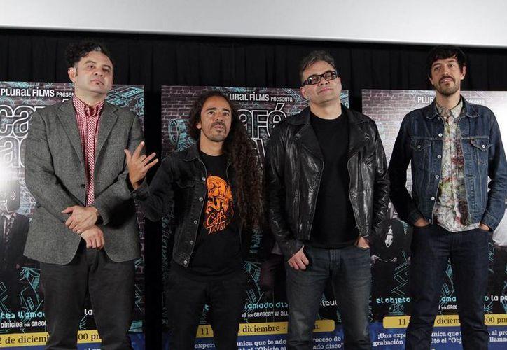 """La película """"El objeto antes llamado disco: la película"""" fue filmada en 2013 por los tacvubos. (Archivo Notimex)"""