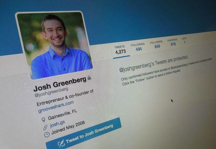 El perfil de Twitter de Greenberg permanece como privado. (Foto: SIPSE)