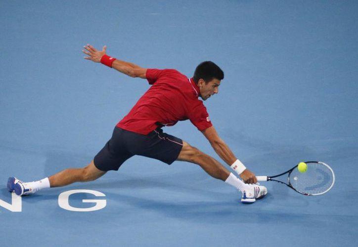 Djokovic, tenista número 1 del mundo que compite en China, podría convertirse en papá muy pronto. (Foto: AP)
