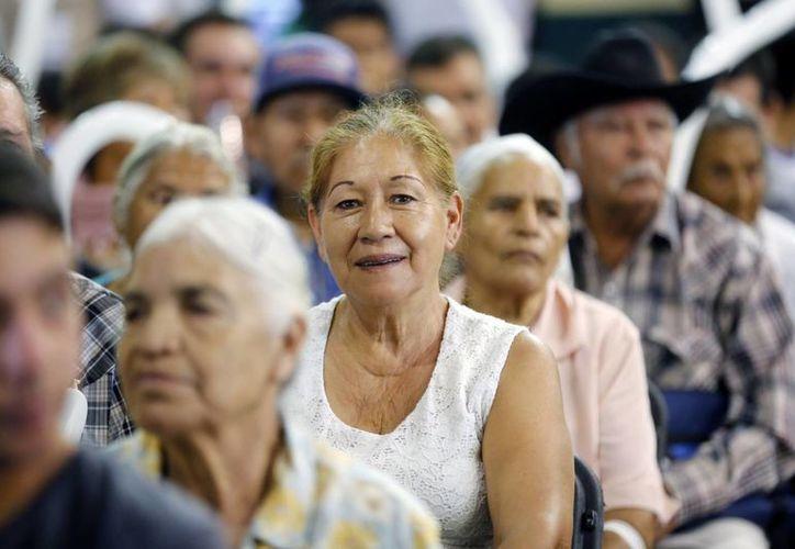 Sedesol apoya a 5.7 millones de adultos mayores con una pensión. (Archivo/SIPSE)