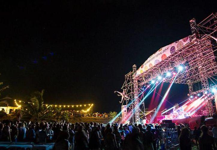 El Tulum New Years Festival se llevará a cabo, por tercer año consecutivo, en la Caleta Tankah. (Contexto/Internet)